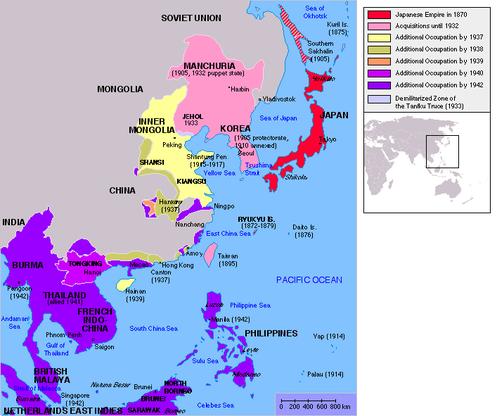 Japan Strikes the Pacific WORLD WAR II